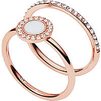 ring woman jewellery Fossil Classics JF02666791508