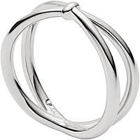 ring woman jewellery Fossil Classics JF02867040503
