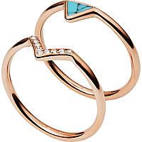 ring woman jewellery Fossil Fashion JF02645791510