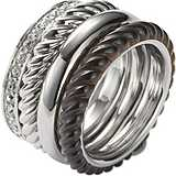 ring woman jewellery Fossil JF85356040503