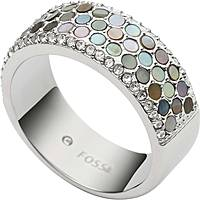 ring woman jewellery Fossil Vintage Glitz JF02313040505