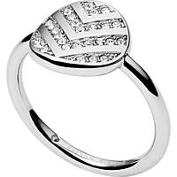 ring woman jewellery Fossil Vintage Glitz JF02675040505