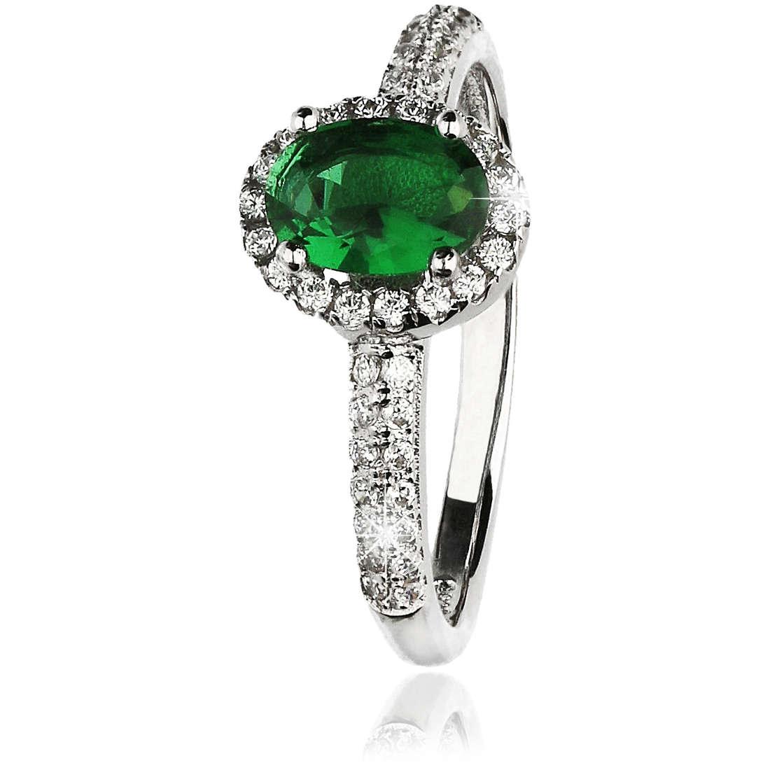 ring woman jewellery GioiaPura GPSRSAN1712-10-VE
