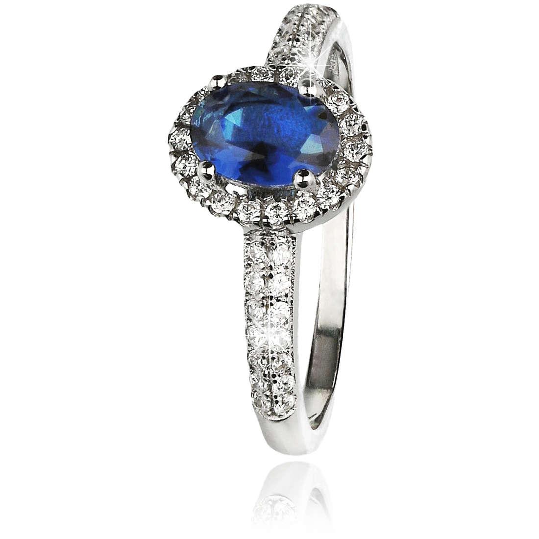 ring woman jewellery GioiaPura GPSRSAN1712-18-BL