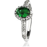 ring woman jewellery GioiaPura GPSRSAN1712-18-VE