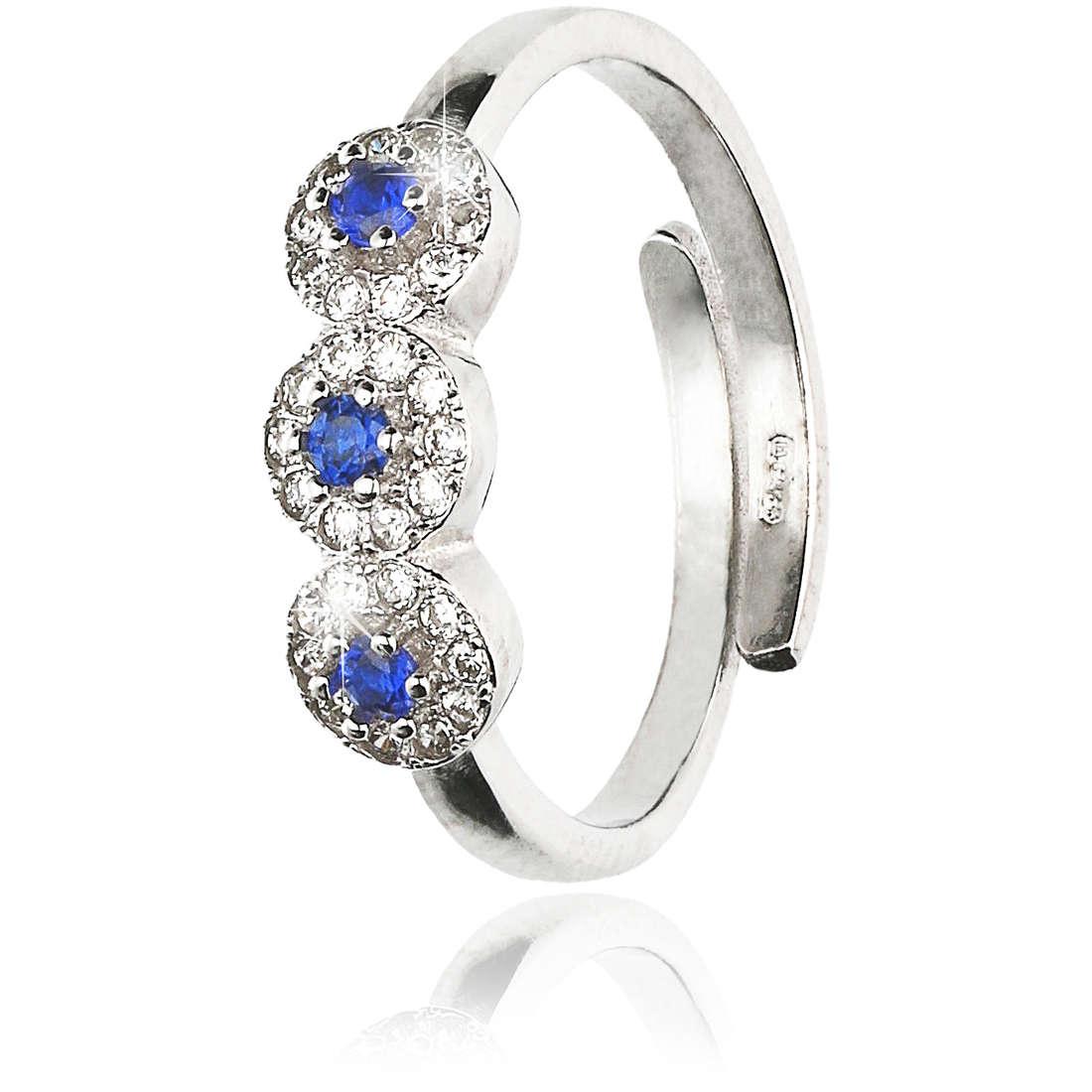 ring woman jewellery GioiaPura GPSRSAN2391-BL