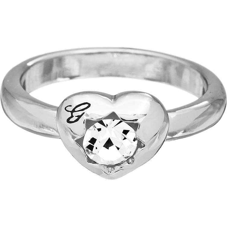 ring woman jewellery Guess CRYSTALS OF LOVE UBR51408-54