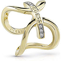 ring woman jewellery Guess Future Essential UBR84046-50