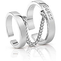 ring woman jewellery Guess Hoops I Did It Again UBR84012-56