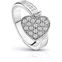 ring woman jewellery Guess Hoops I Did It Again UBR84016-52