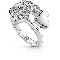 ring woman jewellery Guess Me & You UBR84052-54