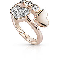 ring woman jewellery Guess Me & You UBR84054-54