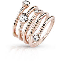 ring woman jewellery Guess Me & You UBR84057-52