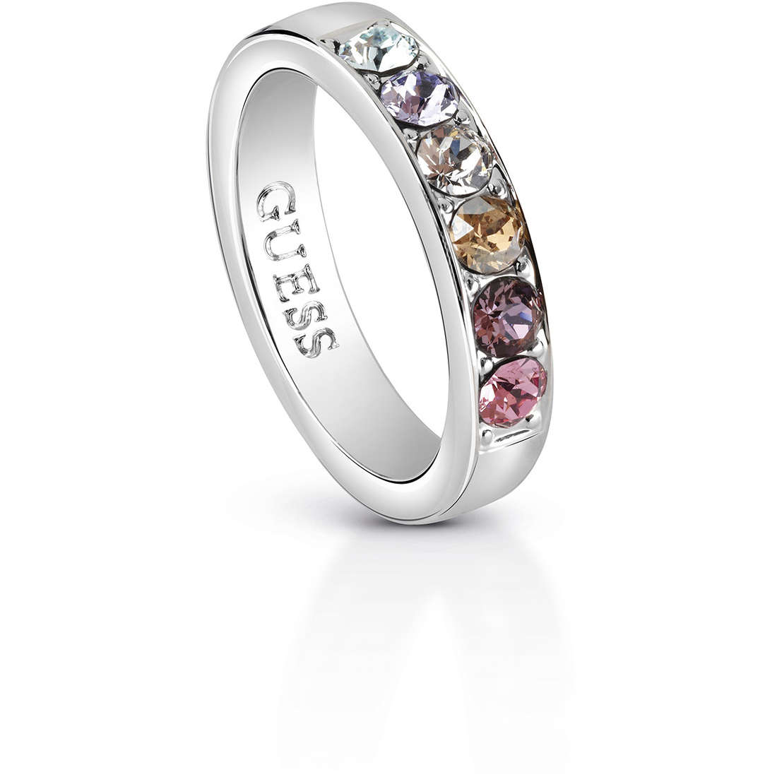 ring jewellery guess miami ubr83037 50 rings guess