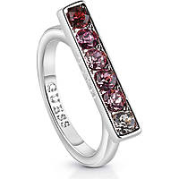 ring woman jewellery Guess Miami UBR83039-54