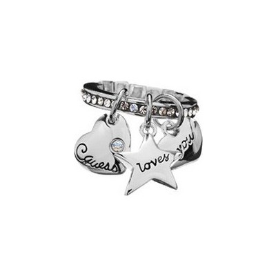 ring woman jewellery Guess UBR81017-S
