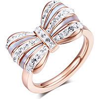ring woman jewellery Luca Barra LBANK104.15