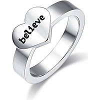 ring woman jewellery Luca Barra Love Is LBANK157.15