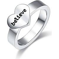 ring woman jewellery Luca Barra Love Is LBANK157.17