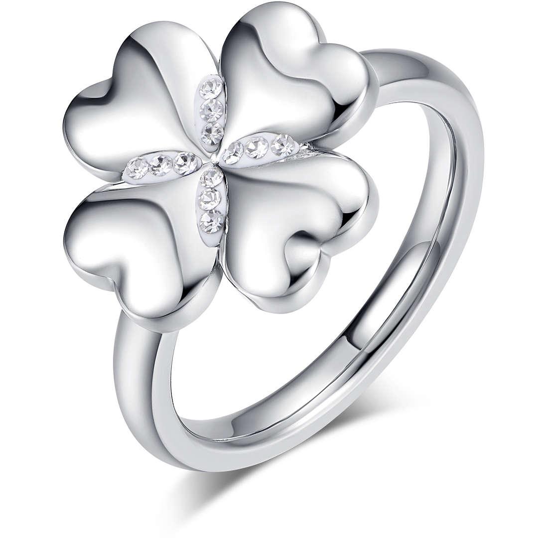 ring woman jewellery Luca Barra Lucky Mood LBANK131.15