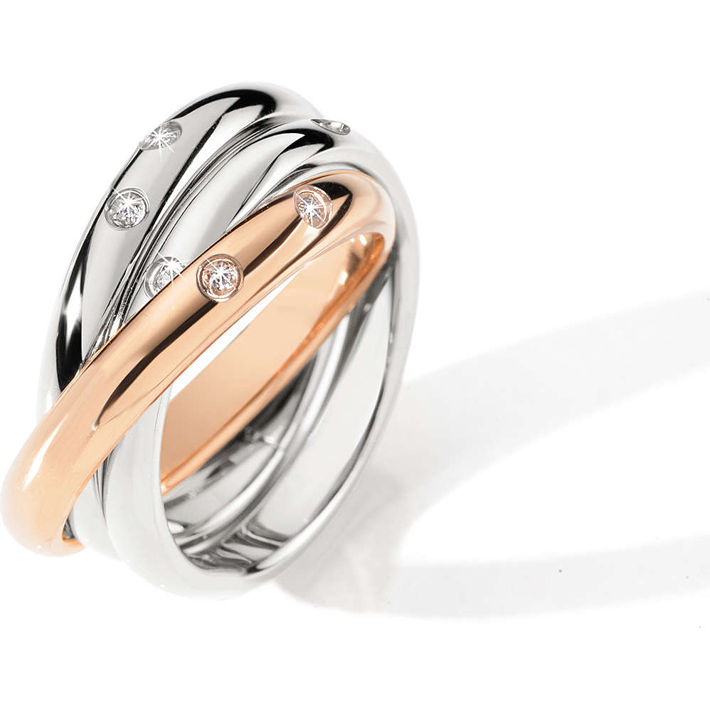 SNA32014 Anello MORELLATO LOVE RINGS Donna