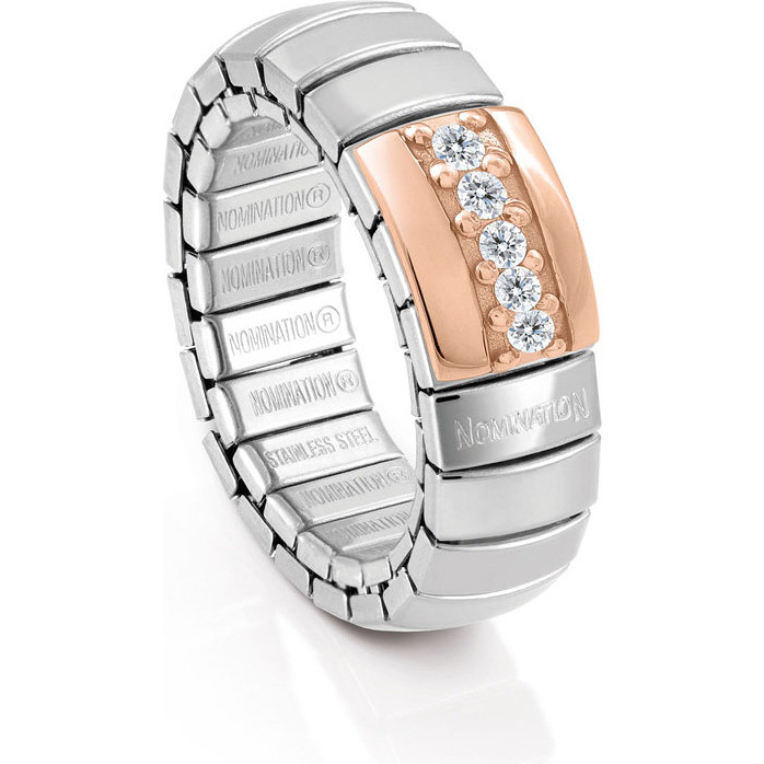ring woman jewellery Nomination Anelli XTE 044002/001