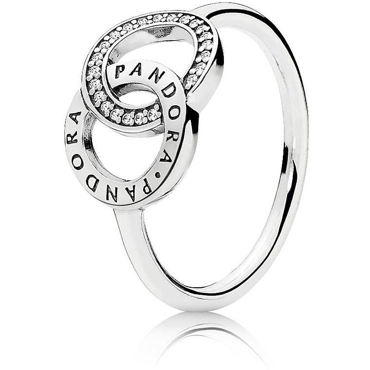 e70163df3565c0 ring woman jewellery Pandora Forever 196326CZ-48 rings Pandora