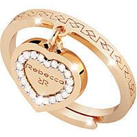 ring woman jewellery Rebecca Boulevard Pearl BHOAOO51