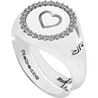 ring woman jewellery Rebecca Myworldsilver SWRAZA77L