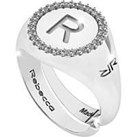 ring woman jewellery Rebecca Myworldsilver SWRAZR68S