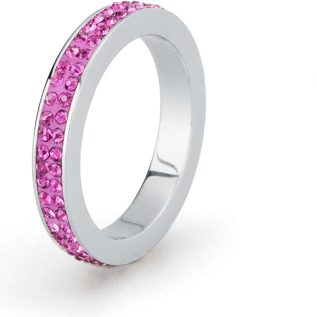 ring woman jewellery Sagapò Crystal ring SCR35C