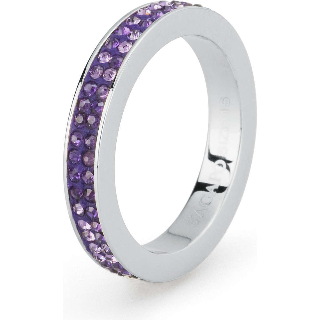 ring woman jewellery Sagapò Crystal ring SCR37B