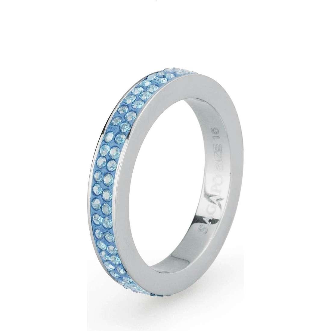 ring woman jewellery Sagapò Crystal ring SCR42B