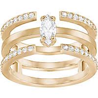 ring woman jewellery Swarovski Gray 5294983