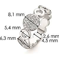 ring woman jewellery Ti Sento Milano 12068ZI/58