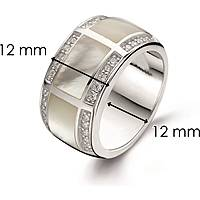 ring woman jewellery Ti Sento Milano 1346MW/56