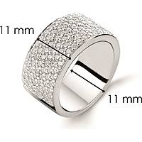 ring woman jewellery Ti Sento Milano 1485ZI/56