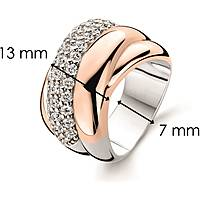 ring woman jewellery Ti Sento Milano 1642ZR/54
