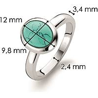 ring woman jewellery Ti Sento Milano Combine 12005TQ/52
