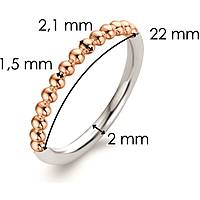 ring woman jewellery Ti Sento Milano Embrace 1937SR/52