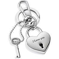 Schlüsselringen frau Schmuck Morellato LOVE PADLOCK HEART SD7129