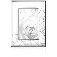 silver frame Ottaviani Home 25737BM