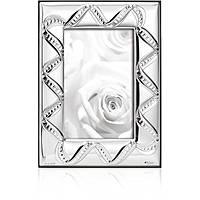 silver frame Ottaviani Home 25764BM