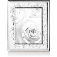 silver frame Ottaviani Home 25765AM