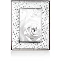silver frame Ottaviani Home 25766BM