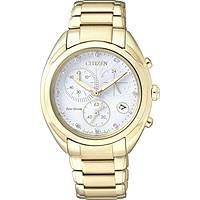 Uhr Chronograph frau Citizen Eco-Drive FB1396-57A