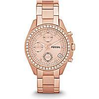 Uhr Chronograph frau Fossil ES3352