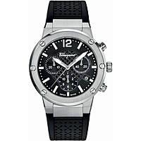 Uhr Chronograph frau Salvatore Ferragamo F-80 FIH010015