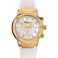 Uhr Chronograph frau Salvatore Ferragamo F-80 FIH030015