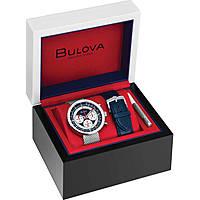 Uhr Chronograph mann Bulova Chronograph C Boxed Set 96K101